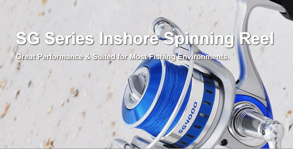 SG Series Inshore Spinning Reel