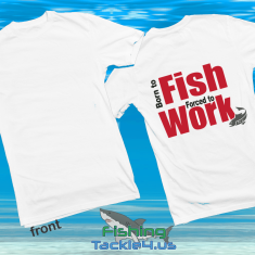 born to fish t-shirt